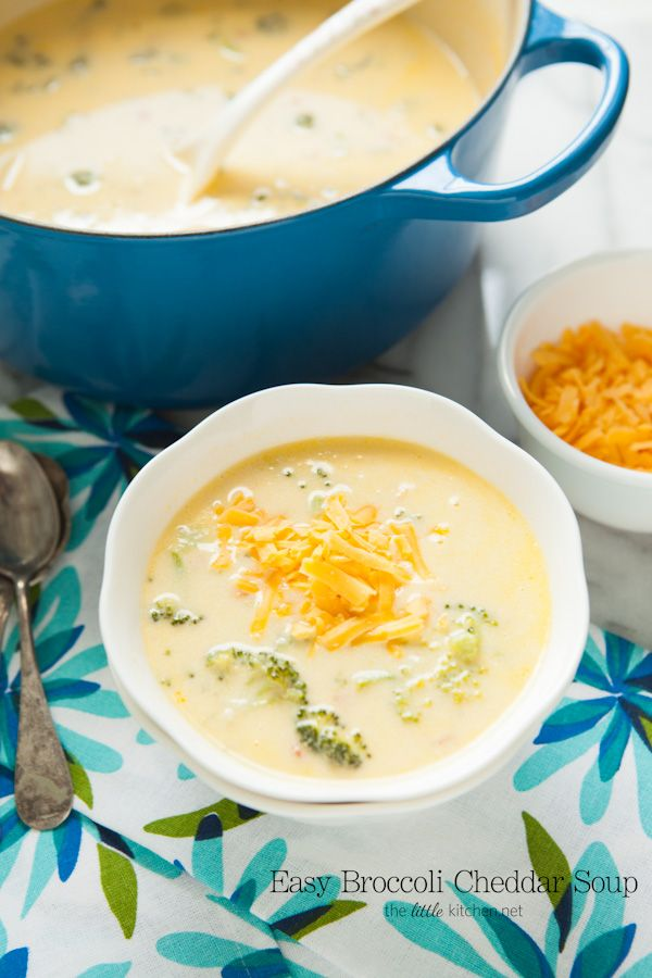 easy broccoli cheddar cheese soup easy broccoli cheese soup easy ...