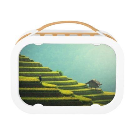 #China agriculture rice harvest lunch box - #country gifts style diy gift ideas