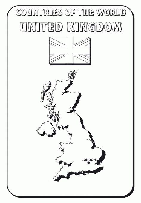 britain coloring pages - photo#28
