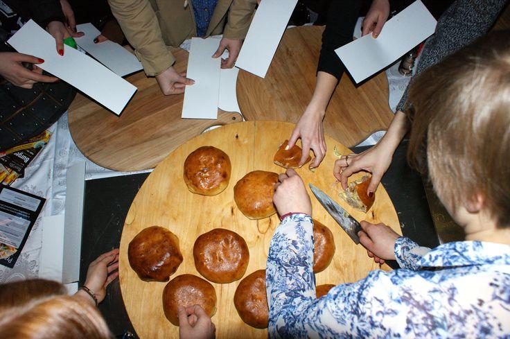 """Burger Pizza była zagadką dla większości """"degustatorów"""" - zagadką, która rozwiała wątpliwości podczas degustacji!  #banolli #foodevent"""