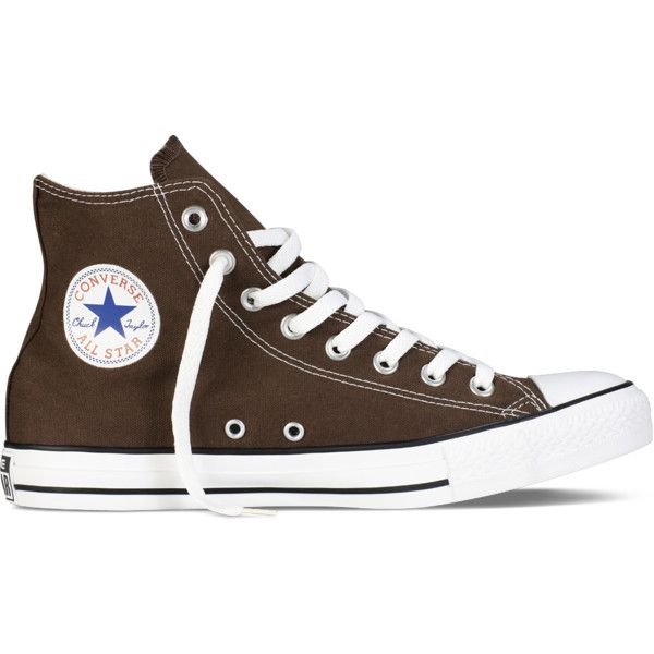 Florecer encerrar Ellos  Converse Chuck Taylor All Star Fresh Colors – brown Sneakers ($20) ❤ liked  on Polyvore featuring shoes, sneakers, con… | Hype shoes, Aesthetic shoes, Brown  converse
