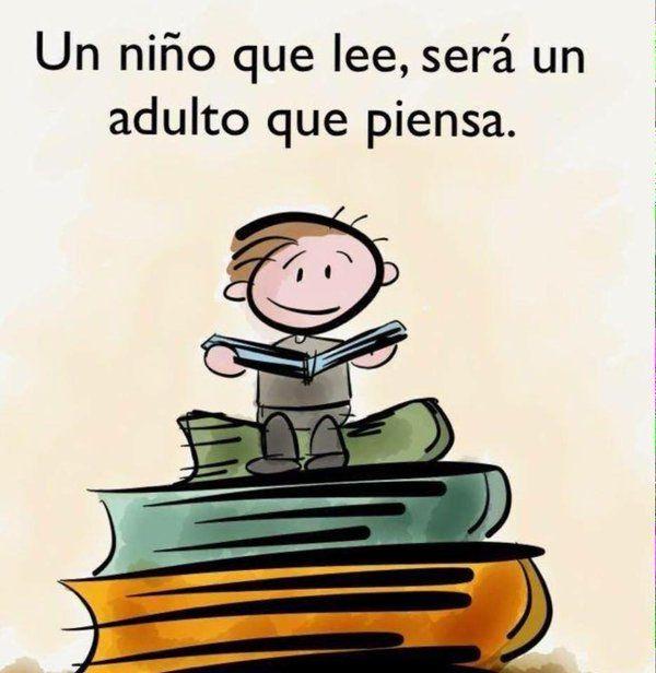 Fomenta la lectura en tus hijos.