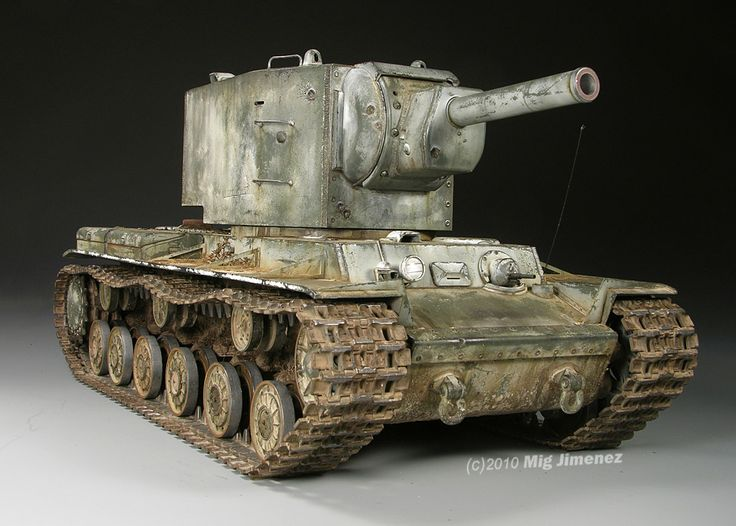 "Armorama :: KV ""BIG"" turret"
