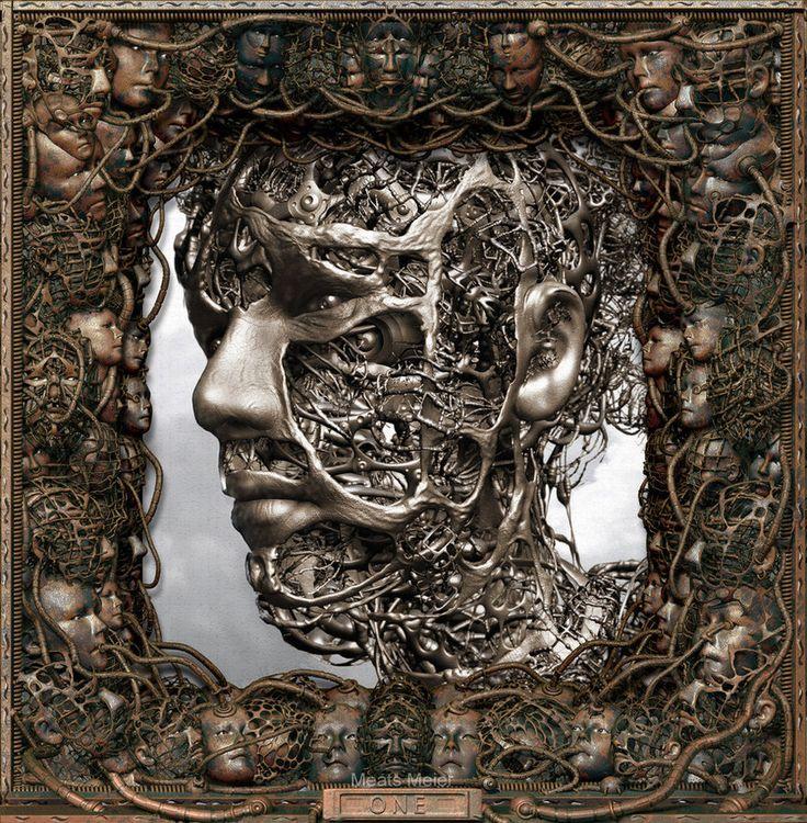 Wire Head by meats on deviantART in 2020 Digital art