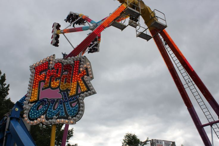 Thrilling rides at the Annual South Shore Exhibition, located in Bridgewater, Nova Scotia.  http://www.thebigex.com/