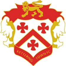 1872, Kettering Town F.C. (England) #KetteringTownFC #England #UnitedKingdom (L16548)