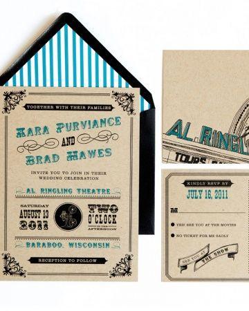 Theatre Poster Invitation