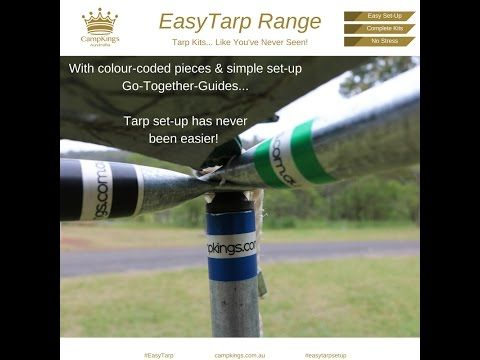 EasyTarp Range from CampKings Australia - YouTube