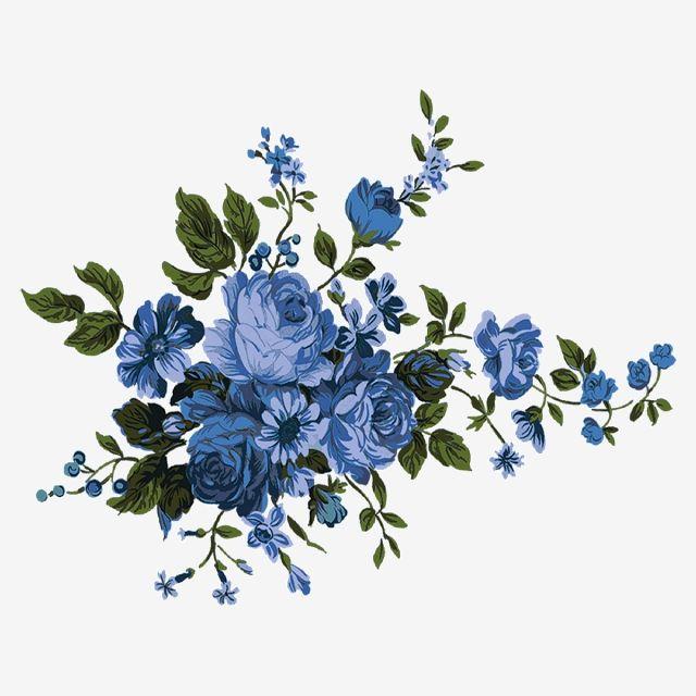 Blue Watercolor Png Blue Flower Frame Png Transparent Png Image For Free Download Explore More Hi Flower Frame Png Watercolor Flower Background Flower Frame