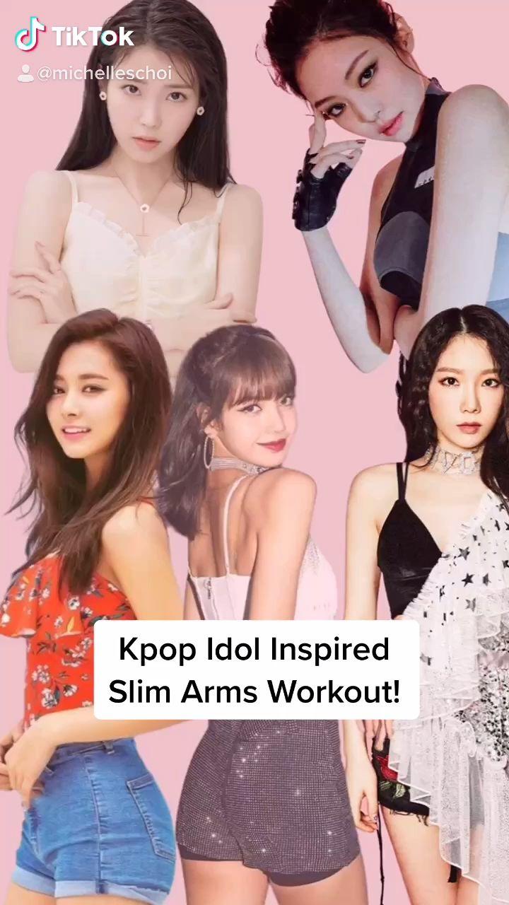 Kpop Idol Slim Arms Workout Video Slim Arms Workout Celebrity Workout Arm Workout