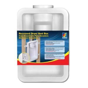 Dundas Jafine Recessed Dryer Vent Box DRB4XZW at The Home Depot - Mobile
