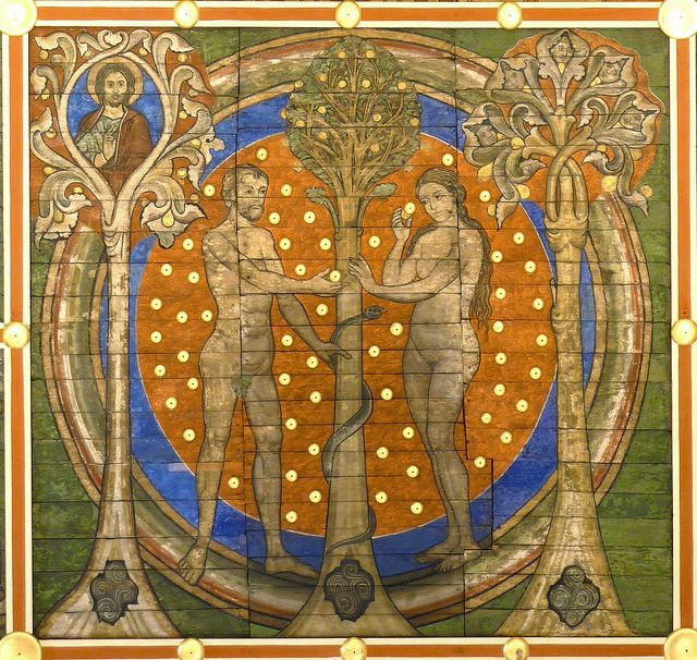 Tree of Jesse: Adam & Eve in paradise | Flickr - Photo Sharing!