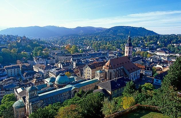 Baden Baden Germany - where my father's ancestral line hails from