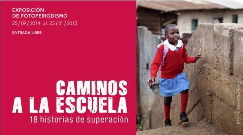 """Javier Fonseca nos condujo el otro día de manera virtual hasta la exposición """"Caminos a la Escuela"""" que la Fundación Canal de Isabel II ofrece en Madrid hasta el 5 de enero."""