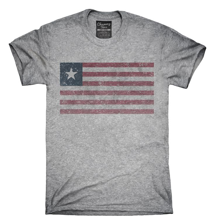 Retro Vintage Liberia Flag T-Shirts, Hoodies, Tank Tops