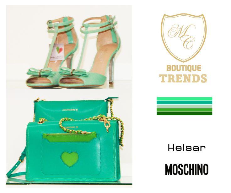 Green <3 #moschino #helsar