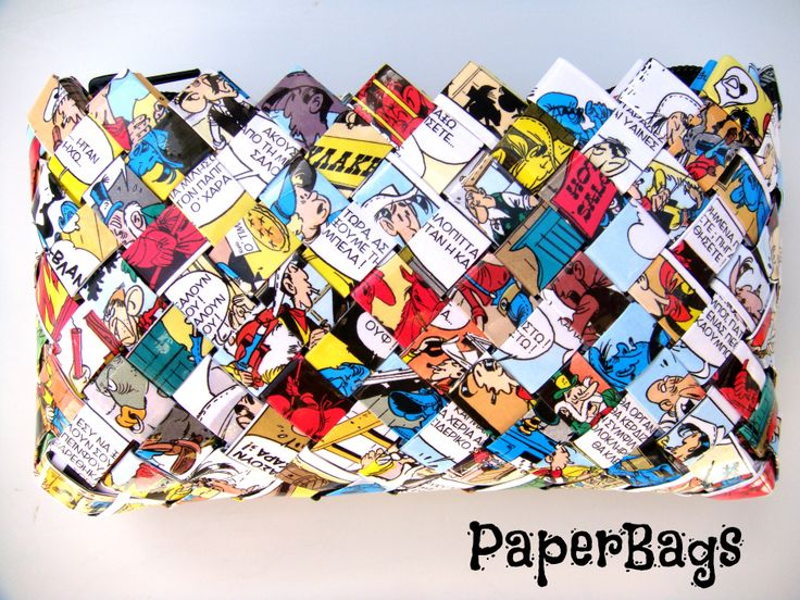 paperbag. Starring Lucky Luke.