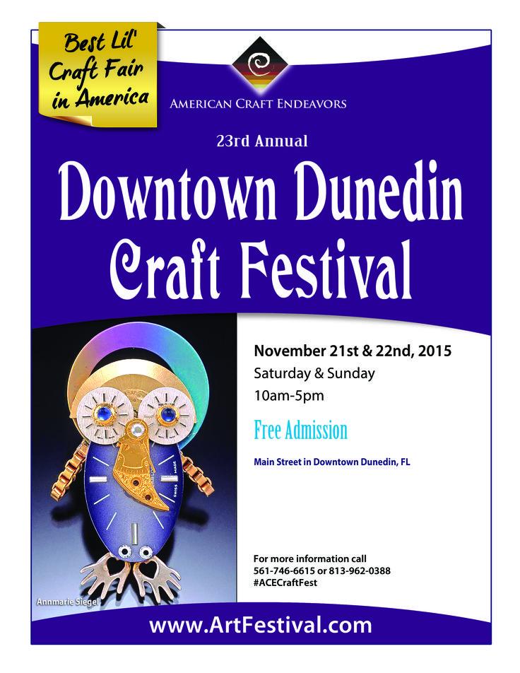 23rd Annual Downtown Dunedin Craft Festival