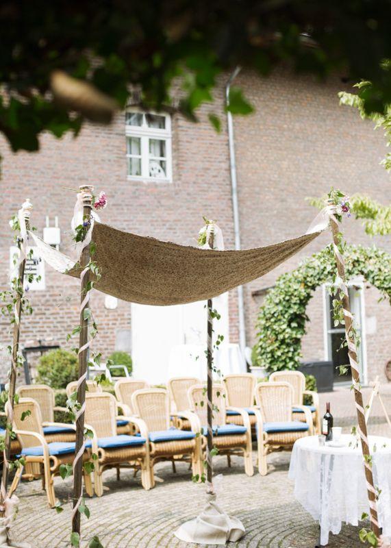 Tolle #Chuppa tolle #jüdische #Hochzeit <3