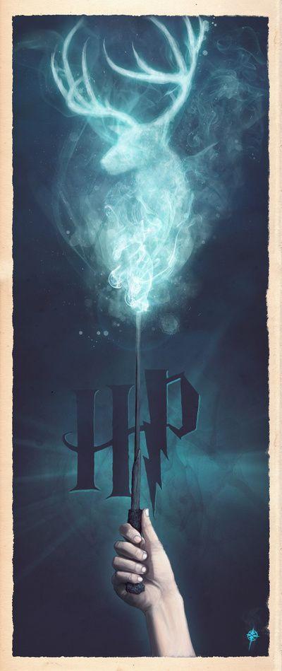 Harry Potter: Expecto Patronum Art Print