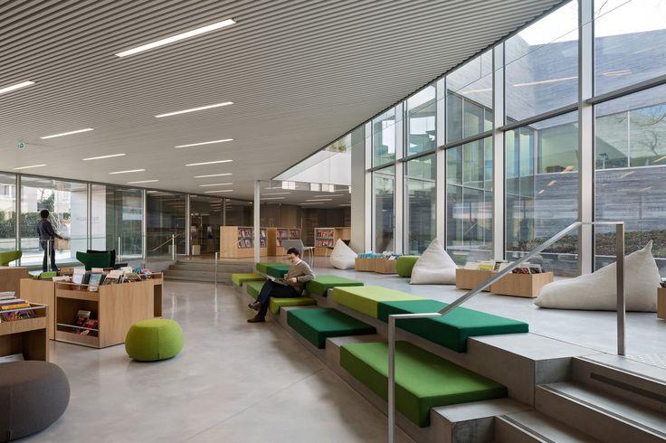 Galería de Mediateca en Bourg-la-Reine / Pascale Guédot Architecte - 11