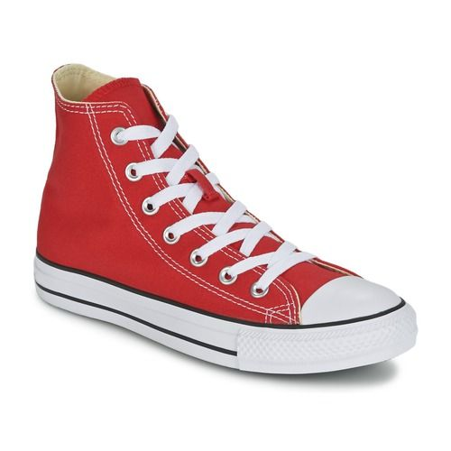 Mito tra i miti, senza tempo ma anche moderne, queste calzature Chuck Taylor ALL STAR sono irrinunciabili nel guardaroba. Basse o alte, in tela o in cuoio, classiche o in fantasie da collezione, a ciascuno le sue Converse!  - Colore : Rosso - Scarpe  63,00 €
