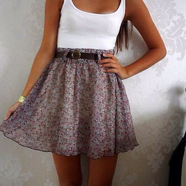 Love: Summer Dresses, Floral Skirts, Summer Outfit, High Waist, Cheesy Quotes, Dreams Closet, Hard Time, Highwaist, Cute Skirts