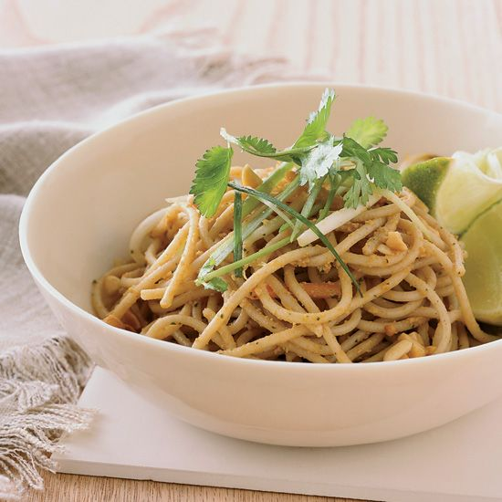 Red Curry Peanut Noodles | Food & Wine