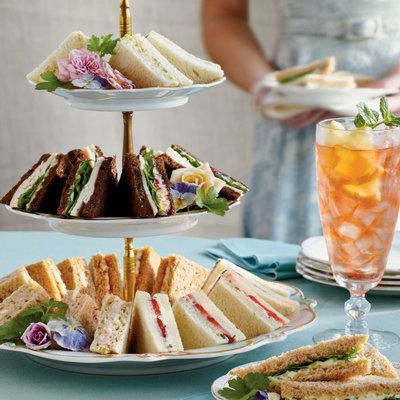 Crowd-Pleasing Tea Sandwiches - The New Ladies Lunch - Southern Living