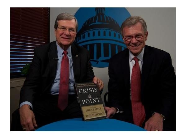 Former Senate Majority Leaders Tom Daschle and Trent Lott, two of the most prominent political leaders of our time, join Shannon Fisher on The Authentic Woman to discuss their new book, Crisis Point: Why We Must - and How We Can - Overcome Our Broken Politics in Washington and Across America.   The book examines the polarizing partisanship that has made governing all but impossible in today's political climate.