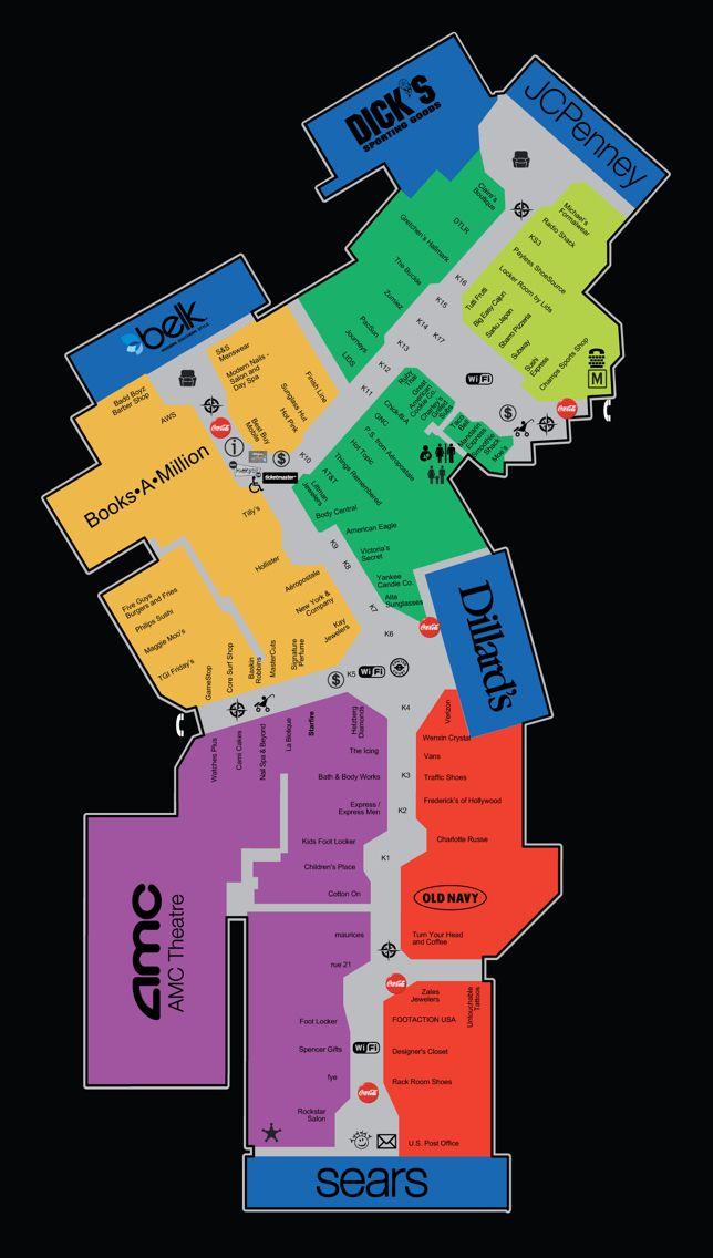 Florida Mall Store Map.31 New Florida Mall Map Bnhspine Com