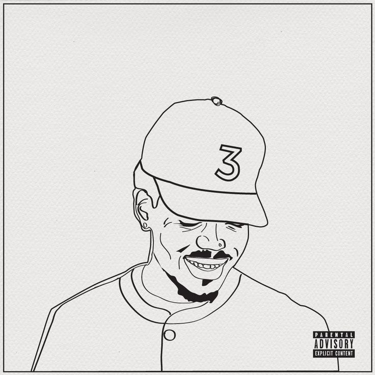 Download A Free Coloring Book Based On The Lyrics From Chance The Rapper S New Chance The Rapper Art Coloring Books Rapper Art