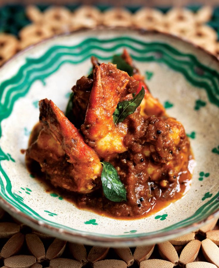 Prawn and tamarind curry (South India) recipe from Atul's Curries of the World by Atul Kochhar   Cooked