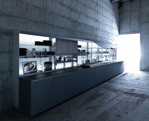 Extremely Ergonomic Kitchen Design   New Logica By Valcucine