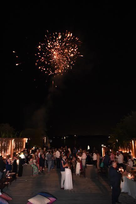 Party time at Melampes Villa