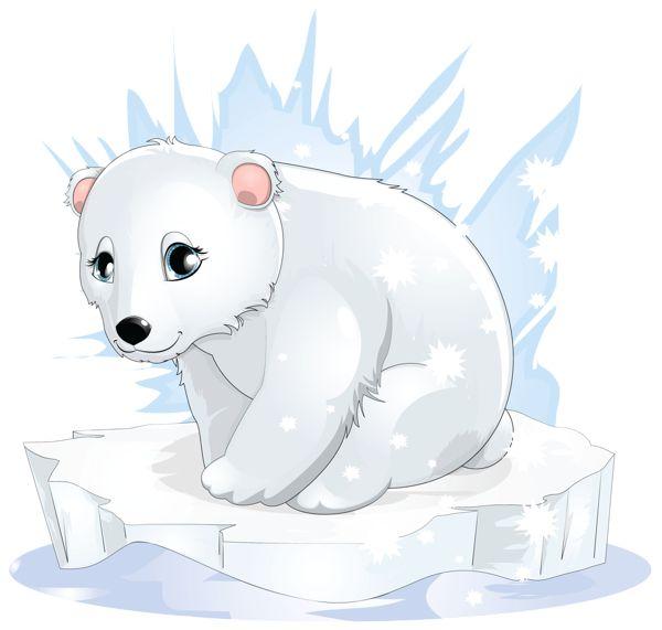 Transparent Polar Bear PNG Clipart