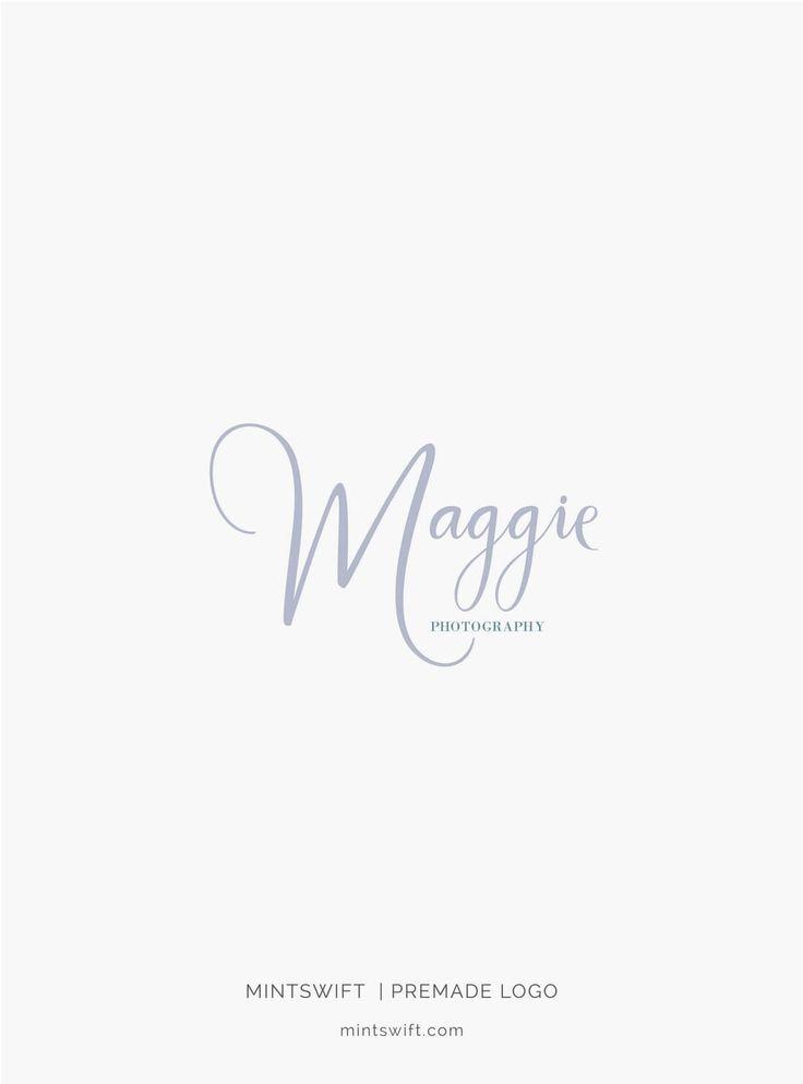 $39 | Maggie Premade Logo Design | MintSwift