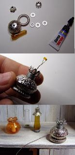 DIY Miniature lamps