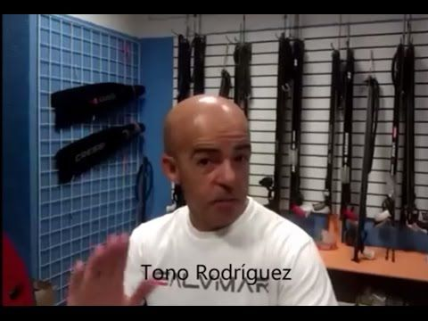Cómo hacer tu propio Fusil de Pesca Submarina. Deportes Arias - YouTube