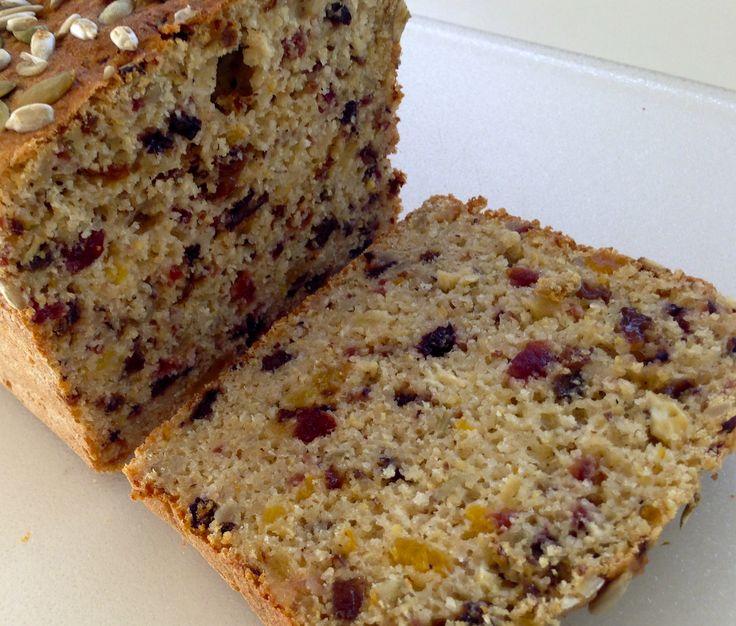 Gluten Free Fruit Bread (using my GF plain bread recipe as a base)