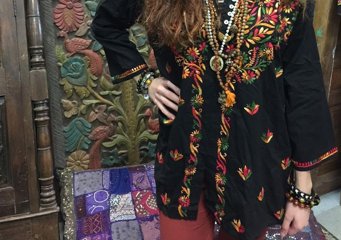 Peasant-inspired beautiful embroidered pattern Tunic Top. This tunic can be match a jeans or shorts or wear it as mini dress.