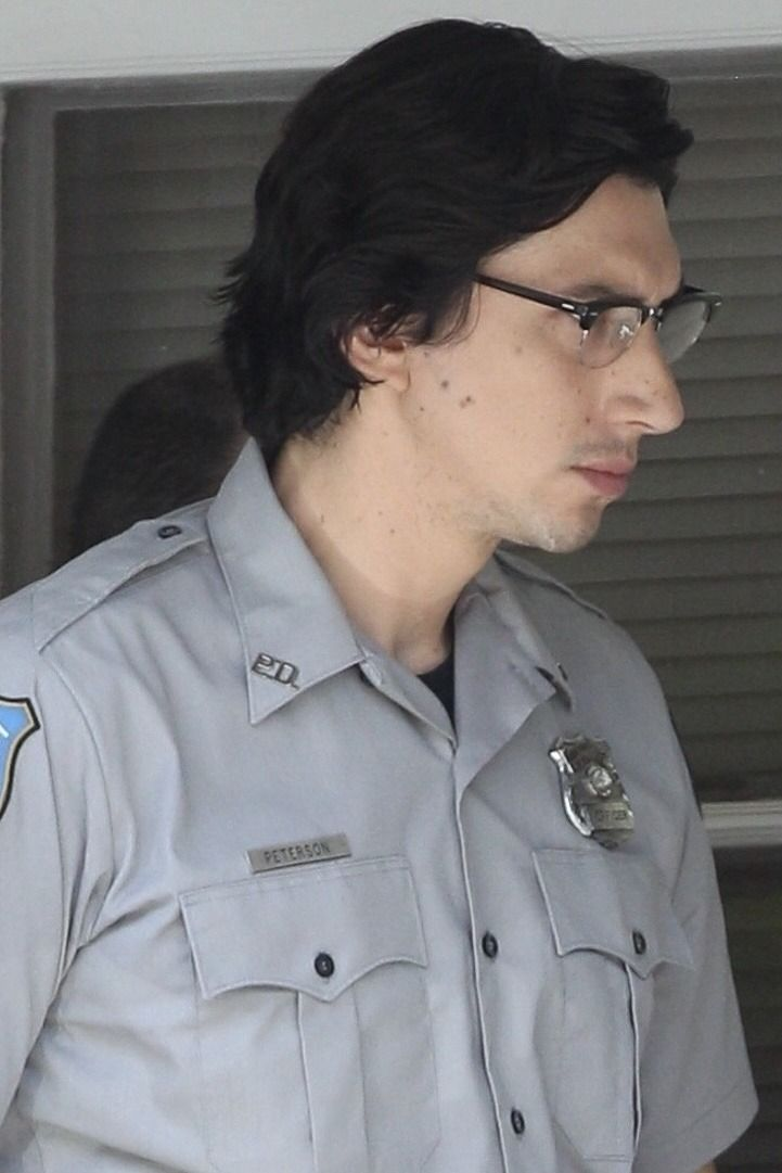 Hq photos of adam driver as officer peterson on the new