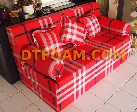 https://dtfoam.com/sofa-multi-fungsi-sofa-bed-red-berry-kotak-garis/ Sofa Bed inoac Red Berry Kotak Garis : – Pilihan Busa : Super awet 10 tahun /Esklusif awet 15 tahun. – Cover : Katun Halus. – Dapat di vakum untuk memperkecil biaya pengiriman. – Motif cover dapat menggunakan motif cover sofa bed maupun motif kasur busa. Sofa bed adalah gabungan sofa dan kasur