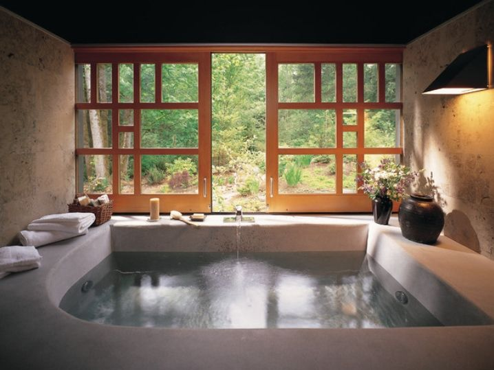 51 Mesmerizing master bathrooms with fireplaces