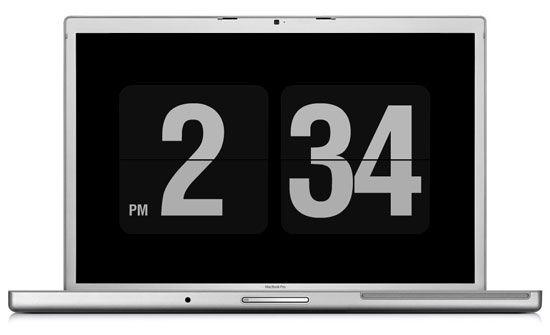 fliqlo - l'économiseur d'écran minimaliste (compatible Windows et Mac)