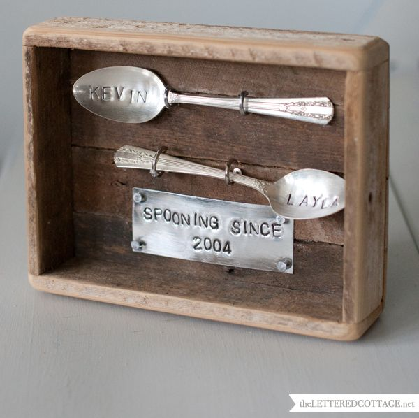 Spoon Art and a Love Story Sliver | The Lettered Cottage