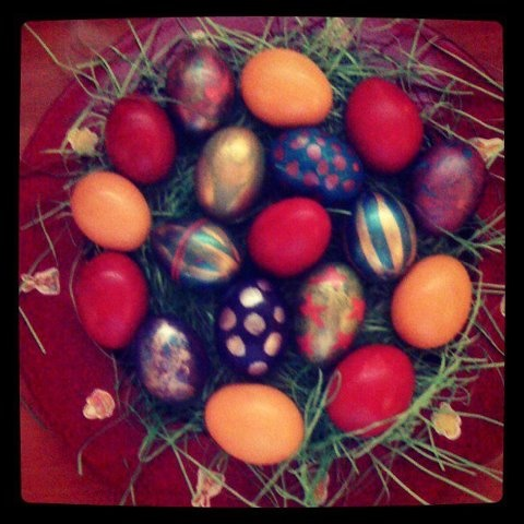 Our easter eggs