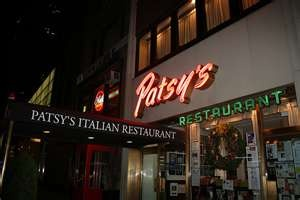 Patsy's, NYC one of my fav places. def fave pizza ever... well I like John's in NYC a lot too!!!