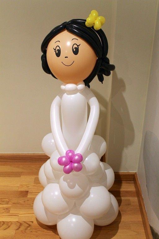 Decoración en globos para bodas y comuniones