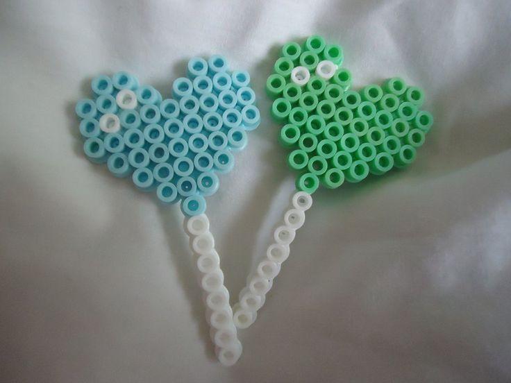 Heart Lollipops perler bead by *PerlerHime on deviantART